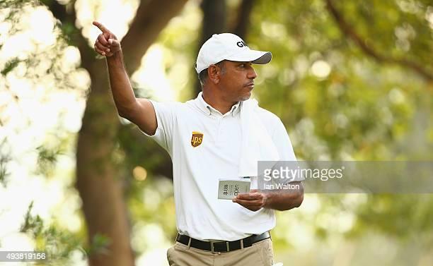 Jeev Milkha Singh of India during the second round of the Hong Kong open at The Hong Kong Golf Club on October 23 2015 in Hong Kong Hong Kong