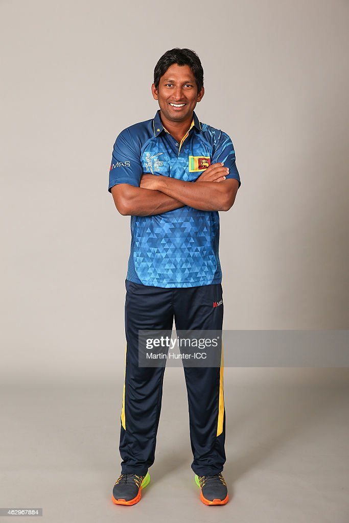 <a gi-track='captionPersonalityLinkClicked' href=/galleries/search?phrase=Jeevan+Mendis&family=editorial&specificpeople=7037737 ng-click='$event.stopPropagation()'>Jeevan Mendis</a> poses during the Sri Lanka 2015 ICC Cricket World Cup Headshots Session at the Rydges Latimer on February 8, 2015 in Christchurch, New Zealand.