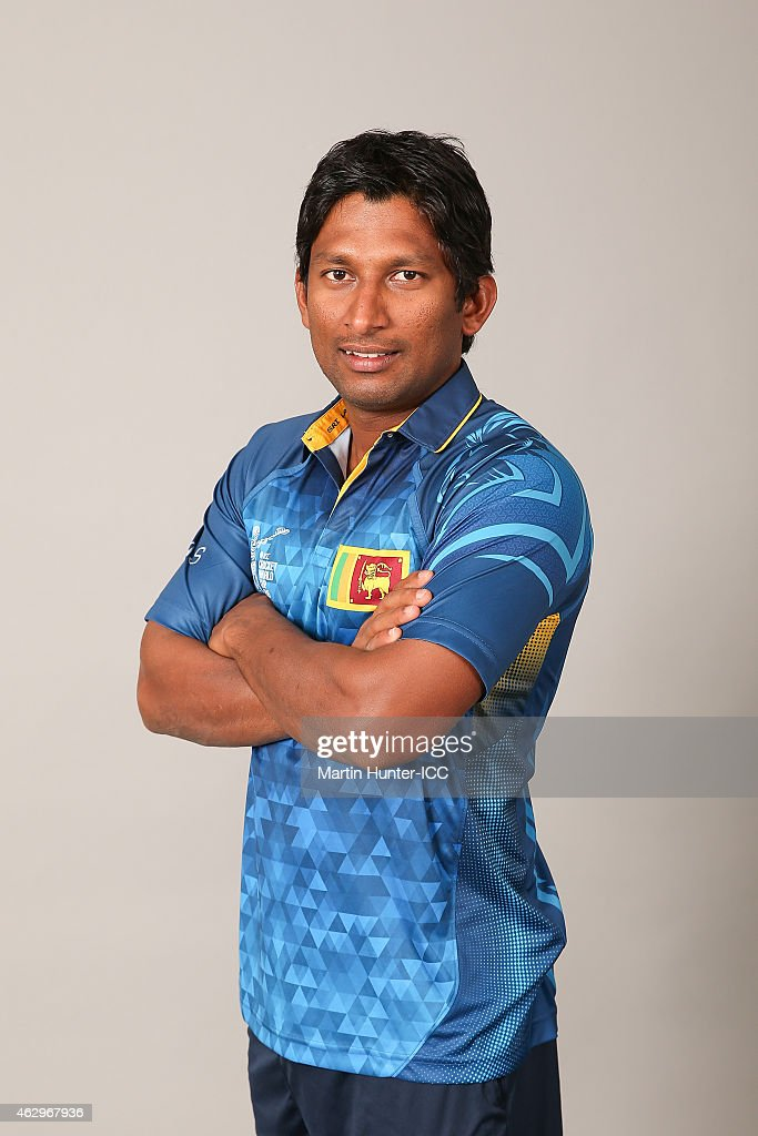 Sri Lanka 2015 ICC Cricket World Cup Headshots Session