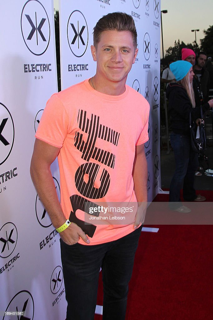 Jef Holm attends the Electric Run Los Angeles Hosted By Vanessa Hudgens at The Home Depot Center on May 24, 2013 in Carson, California.