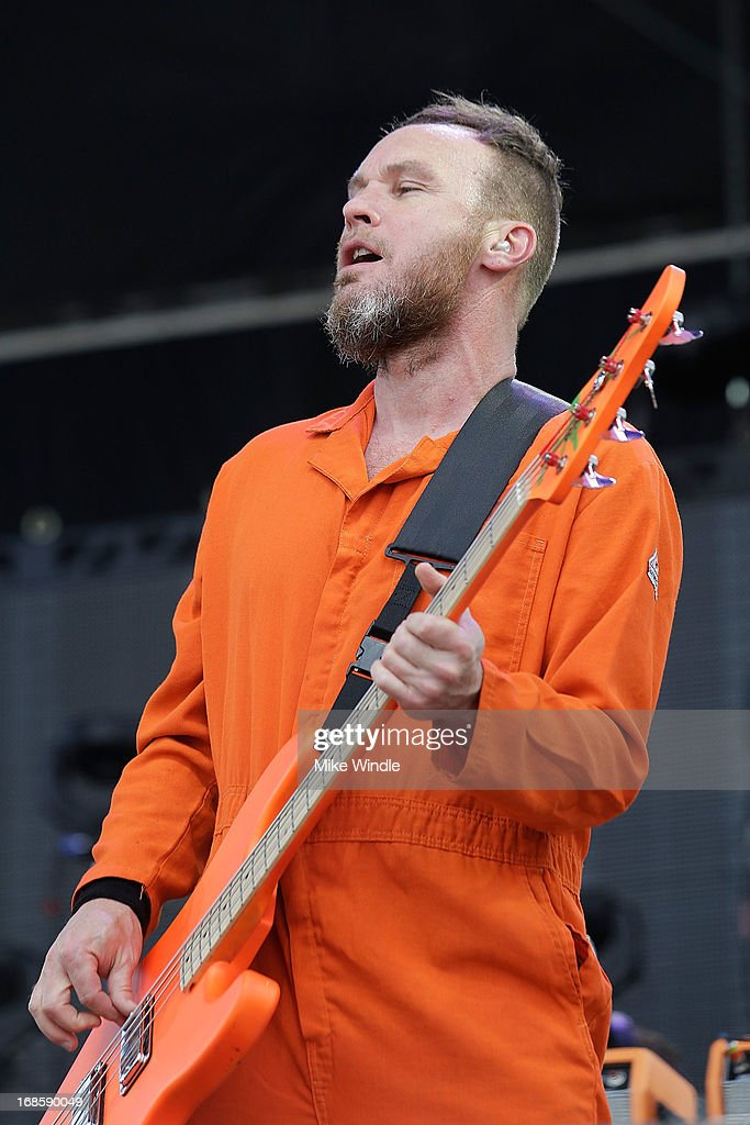 <a gi-track='captionPersonalityLinkClicked' href=/galleries/search?phrase=Jeff+Ament&family=editorial&specificpeople=2540307 ng-click='$event.stopPropagation()'>Jeff Ament</a> of RNDM performs on stage during day 3 of the BottleRock music Festival on May 11, 2013 in Napa, California.