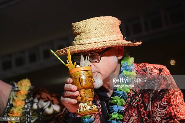 """Jeff """"Beachbum"""" Berry attends The Art Of Tiki A Cocktail Showdown presented by The Captain Morgan Rum Company hosted by Emeril Lagasse during 2015..."""