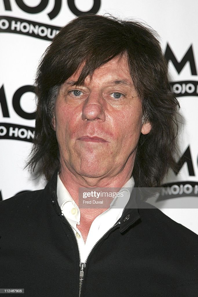 Jeff Beck during Mojo Honours List 2006 - Press Room at Shoreditch Town Hall in London, Great Britain.