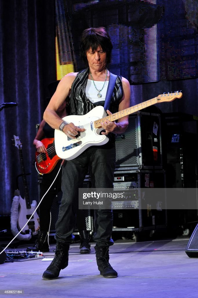 Jeff Beck performing at 'Fiddlers Green' in Englewood Colorado on August 20 2014