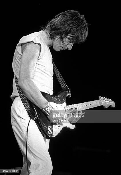 Jeff Beck performs as part of the ARMS benefit for Multiple Sclerosis at the Cow Palace in San Francisco on Dec 1 1983