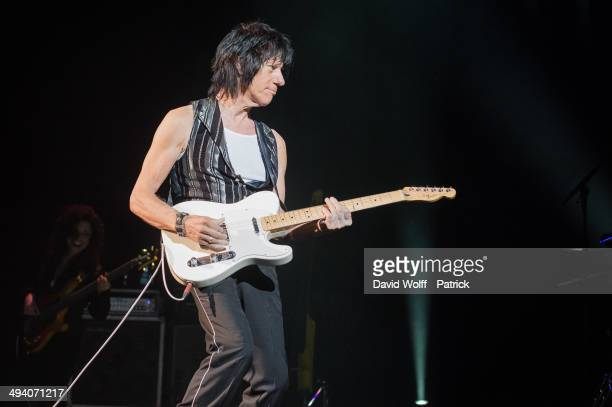 Jeff Beck performs at Le Grand Rex on May 27 2014 in Paris France