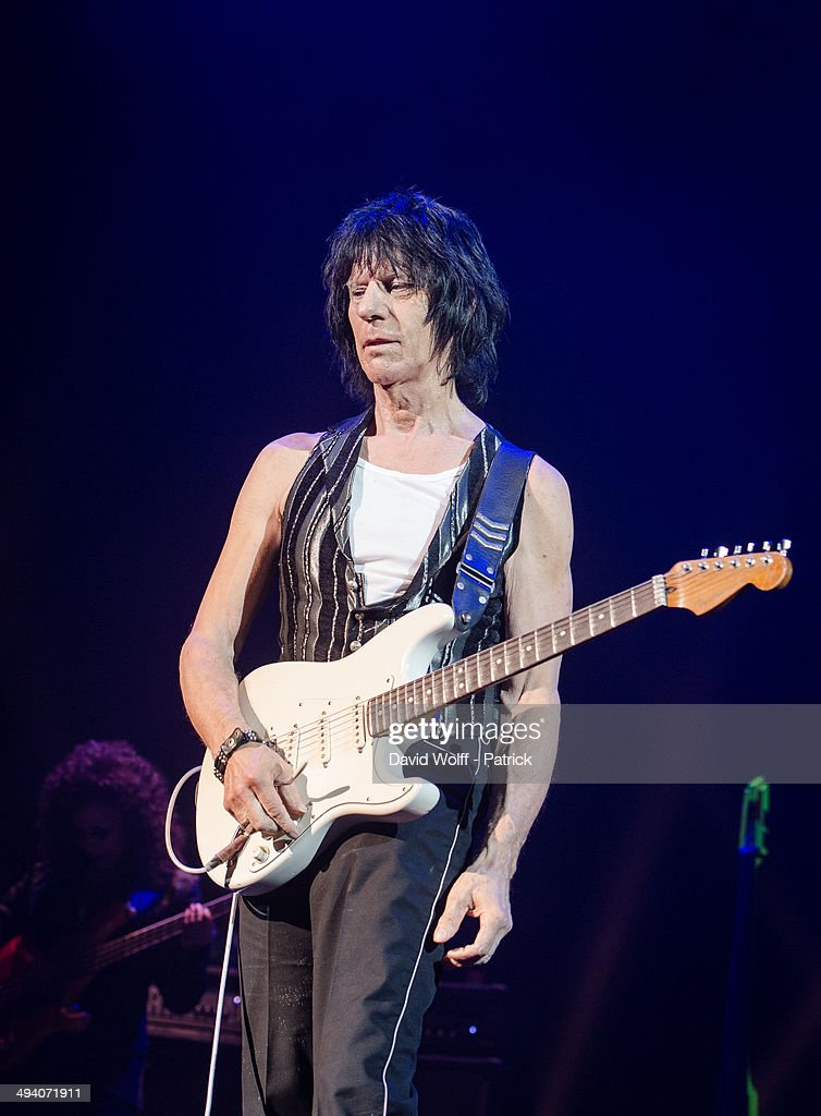 Jeff Beck Performs At Le Grand Rex