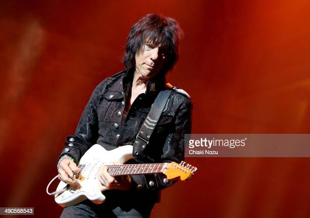 Jeff Beck performs at Royal Albert Hall on May 14 2014 in London England