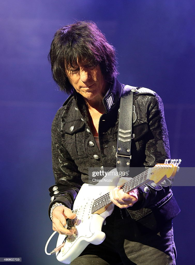 Jeff Beck Performs At The Royal Albert Hall