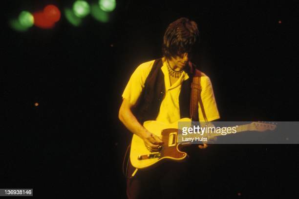 Jeff Beck performs at the Greek Theater in Berkeley California on September 5 1980