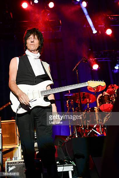 Jeff Beck performs live in concert at Sands Bethlehem Event Center on October 6 2013 in Bethlehem Pennsylvania