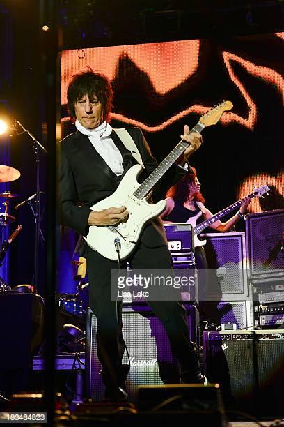 Jeff Beck performs live in concert at Sands Bethlehem Event Center on October 6 2013 in Bethlehem Pennsylvania