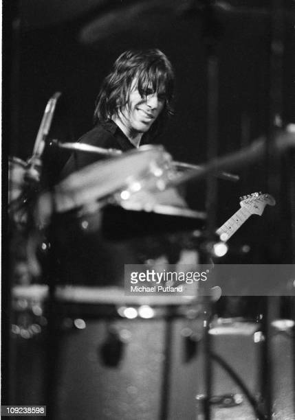 Jeff Beck performs on stage London 1974