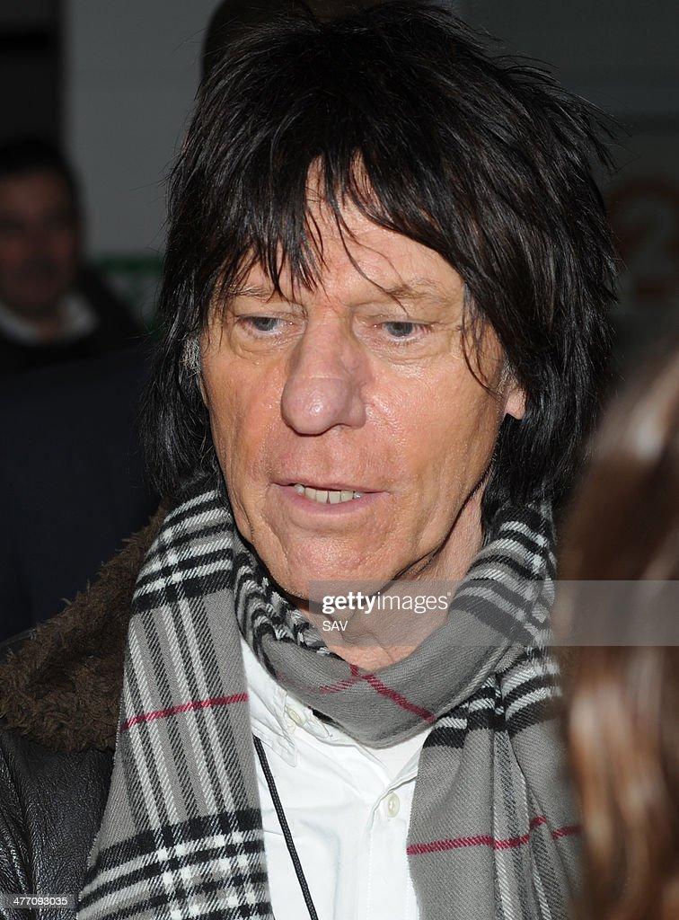 Celebrity Sightings In London - March 7, 2014