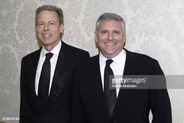 Jeff Bewkes and Phil Kent attend MUSEUM Of The MOVING IMAGE Dinner In Honor Of KATIE COURIC And PHIL KENT at St Regis Hotel on May 5 2010 in New York...