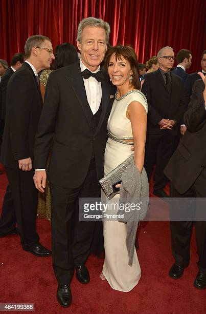 Jeff Bewkes Chairman and CEO of Time Warner Inc attends the 87th Annual Academy Awards at Hollywood Highland Center on February 22 2015 in Hollywood...