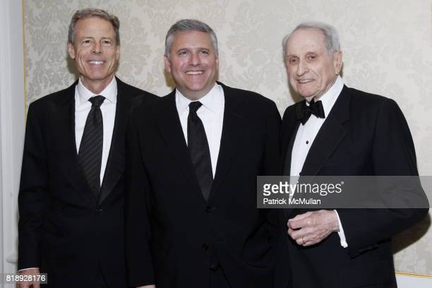 Jeff Bewkes Phil Kent and Herbert S Schlosser attend MUSEUM Of The MOVING IMAGE Dinner In Honor Of KATIE COURIC And PHIL KENT at St Regis Hotel on...