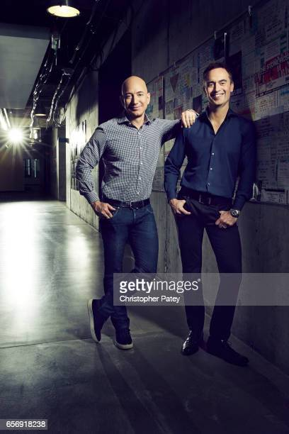 Jeff Bezos and Steve Boom are photographed for Billboard Magazine on January 20 2017 in Seattle Washington COVER IMAGE ON DOMESTIC EMBARGO UNTIL...