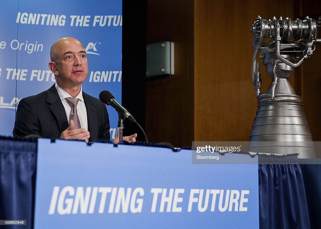 Amazon.com Chief Executive Officer Jeff Bezos Announces ...