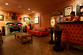 –Jeff 'Biff' Butler enjoys the tiki life to its fullest in his Westminster home His fireplace is crafted to look like a giant tiki head with glowing...