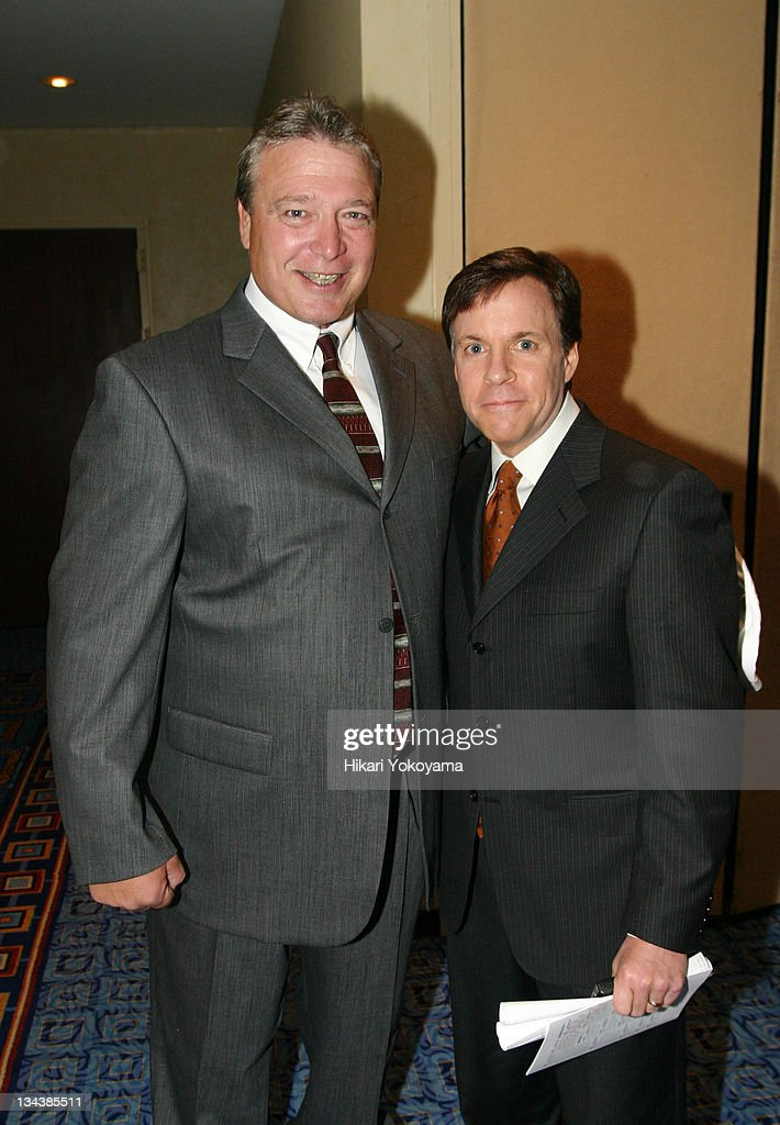 Jeff Blatnick and Bob Costas during The 12th Annual Lou Gehrig Sports Awards Benefit Honoring Yogi Berra Oksana Baiul and Mike Eruzione at The...