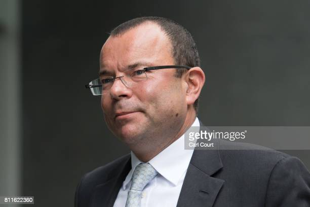 Jeff Blue a former strategic development director for Sports Direct who is suing company owner Mike Ashley arrives at the High Court on July 10 2017...