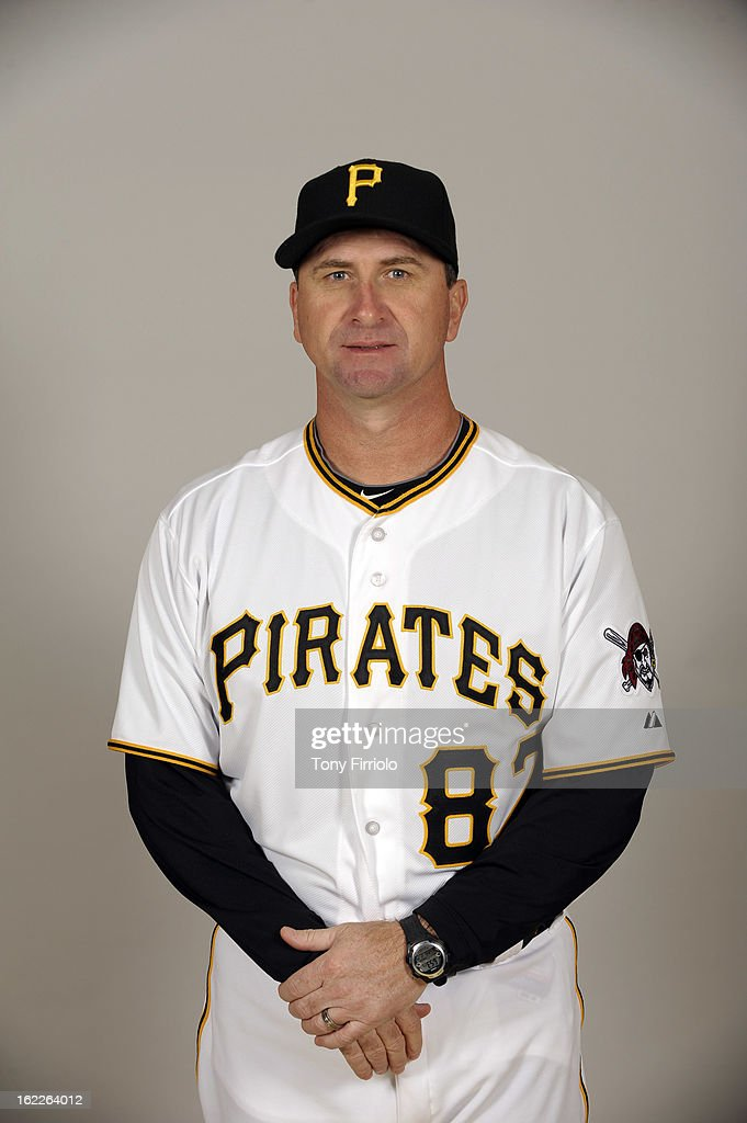 Jeff Branson #87 of the Pittsburgh Pirates poses during Photo Day on February 17, 2013 at McKechnie Field in Bradenton, Florida.