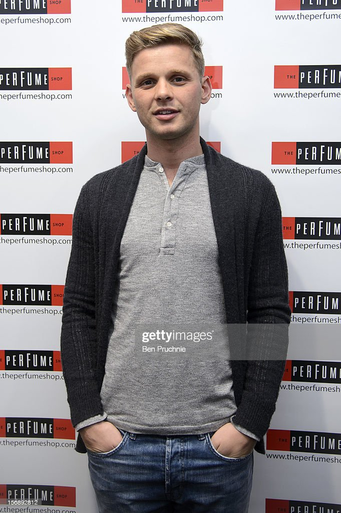 Jeff Brazier attends the American Express Shop West end VIP Day on November 24, 2012 in London, England.