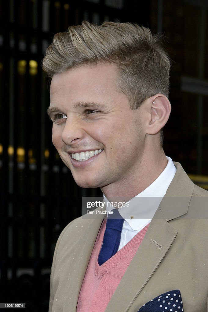 <a gi-track='captionPersonalityLinkClicked' href=/galleries/search?phrase=Jeff+Brazier&family=editorial&specificpeople=658015 ng-click='$event.stopPropagation()'>Jeff Brazier</a> sighted departing ITV Studios on January 29, 2013 in London, England.