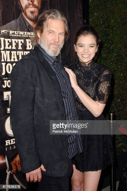 Jeff Bridges and Hailee Steinfeld attend PreRelease Industry Screening of TRUE GRIT at Academy of Motion Picture Arts and Sciences on December 9 2010...