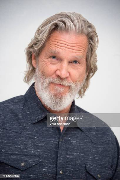 Jeff Bridges at 'The Only Living Boy in New York' Press Conference at the Four Seasons Hotel on August 3 2017 in Beverly Hills California