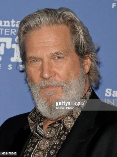Jeff Bridges attends the 32nd Santa Barbara International Film Festival 'American Riviera Tribute' at Arlington Theater on February 9 2017 in Santa...
