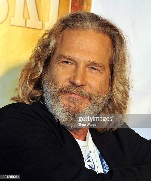 Jeff Bridges attends 'The Big Lebowski' Bluray release at the Hammerstein Ballroom on August 16 2011 in New York City