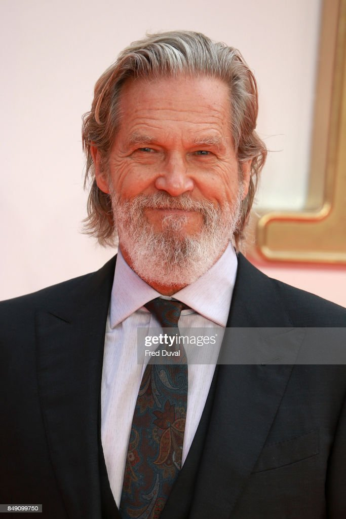 Jeff Bridges attends the 'Kingsman: The Golden Circle' World Premiere held at Odeon Leicester Square on September 18, 2017 in London, England.
