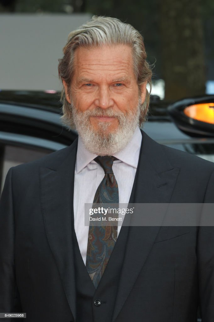 Jeff Bridges attends the World Premiere of 'Kingsman: The Golden Circle' at Odeon Leicester Square on September 18, 2017 in London, England.
