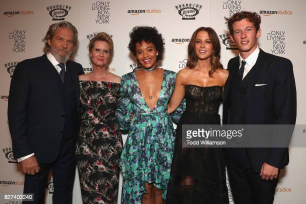 Jeff Bridges Cynthia Nixon Kiersey Clemons Kate Beckinsale and Callum Turner attend 'The Only Living Boy In New York' Premiere at Museum of Modern...