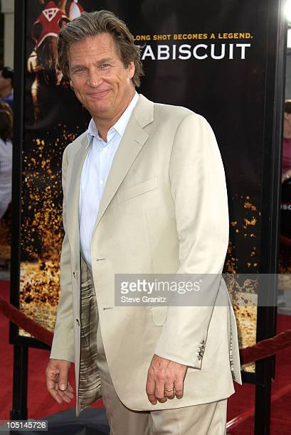 Jeff Bridges during 'Seabiscuit' Premiere at Mann Village Theatre in Westwood California United States