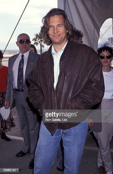 Jeff Bridges during The 8th Annual IFP/West Independent Spirit Awards at Santa Monica Beach in Santa Monica California United States