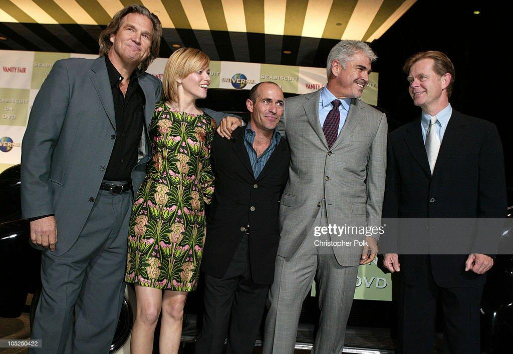 Jeff Bridges, Elizabeth Banks, Gary Stevens, Gary Ross, and William H. Macy