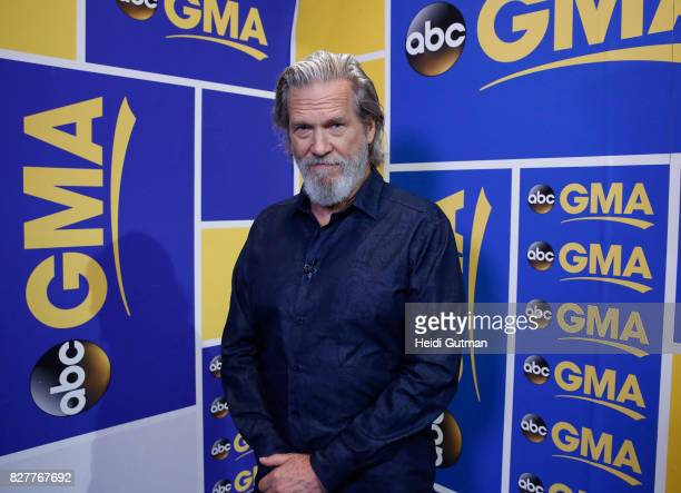 AMERICA Jeff Bridges is a guest on 'Good Morning America' Tuesday August 8 airing on the ABC Television Network JEFF