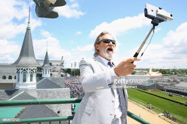 Jeff Bridges Star Of The Upcoming 'Kingsman The Golden Circle' attends The Kentucky Derby at Churchill Downs on May 6 2017 in Louisville Kentucky