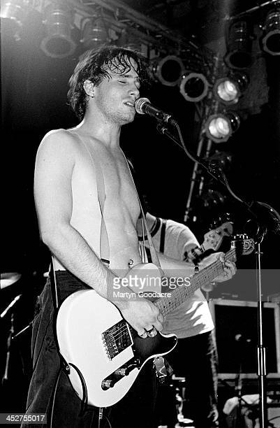 Jeff Buckley performs on stage at The Garage Islington London United Kingdom 1st September 1994