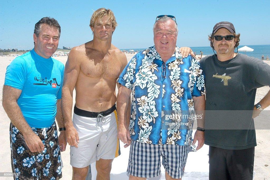 Jeff Clark, Laird Hamilton, Greg Noll and Stacy Peralta