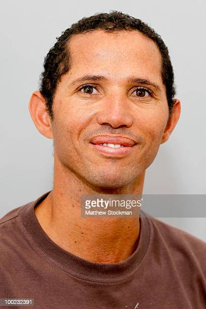 Jeff Coetzee poses for a headshot at Roland Garros on May 22 2010 in Paris France