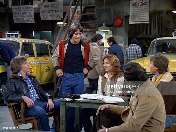 Jeff Conaway as Bobby Wheeler Tony Danza as Tony Banta Marilu Henner as Elaine O'ConnorNardo Judd Hirsch as Alex Reiger and Randall Carver as John...