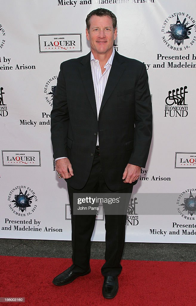 Jeff Conine, former Florida Marlins player, attends Destination Fashion 2012 To Benefit The Buoniconti Fund To Cure Paralysis, the fundraising arm of The Miami Project to Cure Paralysis, on November 10, 2012 in Miami, Florida.