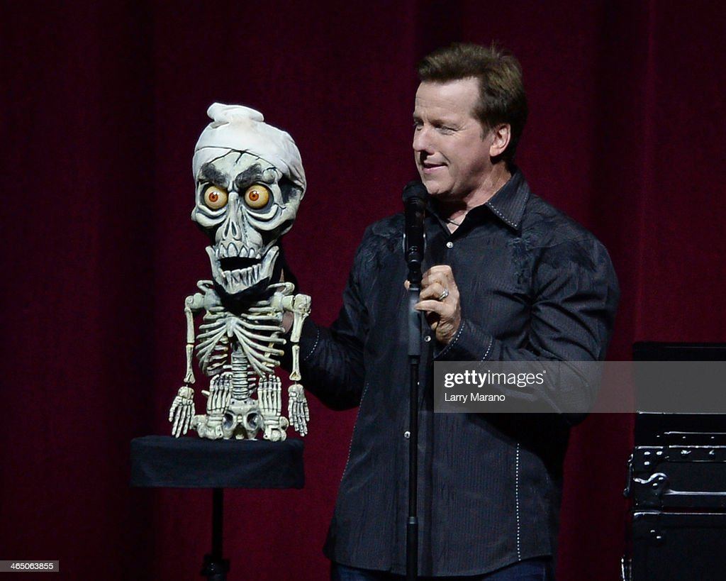 Jeff Dunham performs at BB&T Center on January 25, 2014 in Sunrise, Florida.