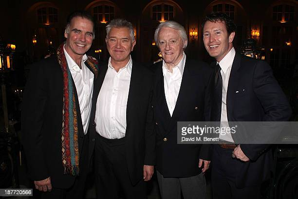 Jeff Fahey Martin Shaw Robert Vaughn and Nick Moran attend an after party following the press night performance of 'Twelve Angry Men' on November 11...