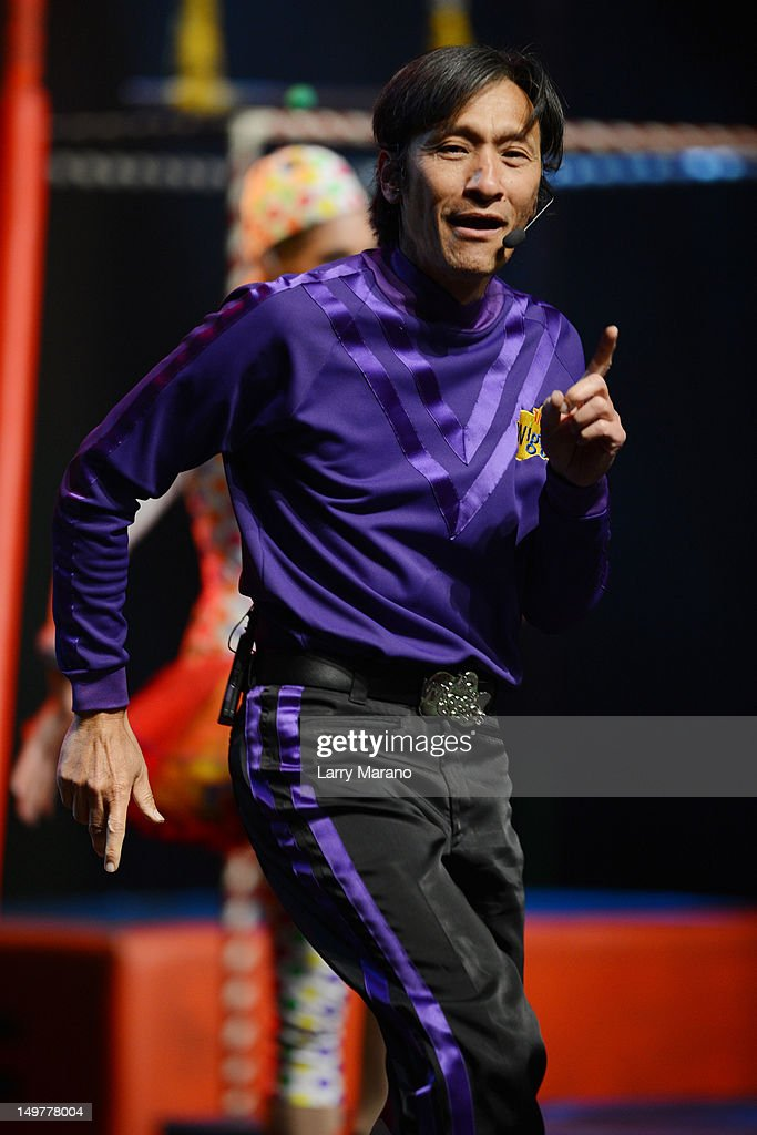 Jeff Fatt of The Wiggles performs at Fillmore Miami Beach on August 3, 2012 in Miami Beach, Florida.