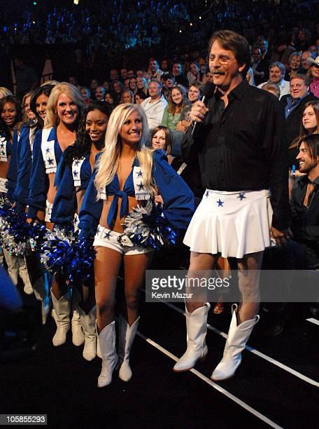 Jeff Foxworthy and the Dallas Cowboys Cheerleaders introduce award presenters